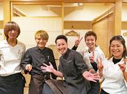 「純粋に、楽しいから続けてます!」 なんといっても笑顔が多いお店です☆ 不安な方は短期からでもOKです!!
