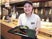 10代~40代まで幅広い層のスタッフが多数活躍中★スタッフの笑顔が耐えない店内は、自然とお客様も笑顔になります♪