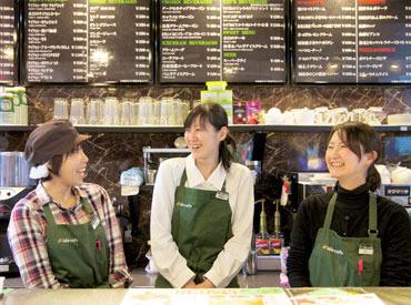 """【 イオンノア店の中のカフェ♪ 】 お仕事前後にお買い物も出来ちゃいます♪しかも<週2/2h~>""""ご家庭両立""""にぴったり★"""