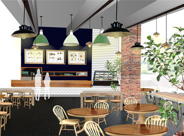 【カフェSTAFF】『KANRIN CAFE』9/4 GRAND OPEN!!**。お店づくりをイチから、みんなでしませんか♪新しいお店&仲間がアナタを待っています★