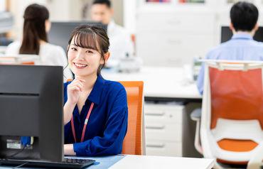 未経験からできる人気のオフィスワーク♪とってもシンプルなお仕事なので、 スキルや経験などは不問です*