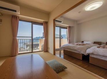 【ホテルSTAFF】別荘スタイルのホテルで3職種大募集♪⇒【厨房、清掃、フロント】熱海駅より徒歩6分!シフトはなるべく希望通りに組みます!