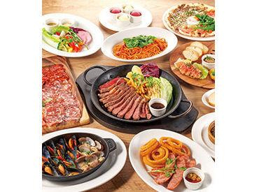 パスタやピザのまかない付♪ たくさんシフトに入れば、食費の節約にもなりますよ◎