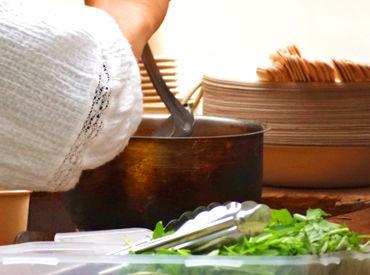 未経験の方大歓迎♪ 調理はシンプルなので安心です! 難しい技術が必要なものはありません◎ ※イメージ画像