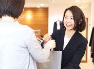 ディスプレイも大事なお仕事◆アナタのアイデア1つでお客様がより魅力的に♪