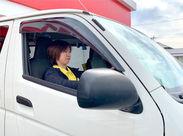 ドライバーのお仕事で大募集♪配送先も受取人も社内のSTAFFだから気楽なんです◎ ※画像はイメージになります。