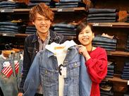 さまざまなスタイルの服を扱っているお店です◎ブランドもいろいろあるので全身1ブランドで統一しなくてもOKです!