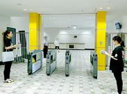 駅近で通勤アクセス便利! 交通費支給ありで安心です!