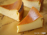 ●東武のデパ地下で話題●ほんのり甘い香りが◎チーズケーキetcスイーツを扱うお店です☆フリーターさんにオススメです♪