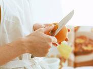 料理が好きな方・コツコツとした作業が得意な方にもオススメ◎まわりがしっかりサポートします!初心者さんも大歓迎♪