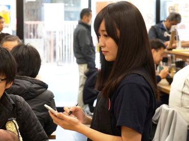 駅チカ★家系ラーメン店 \未経験&バイトデビューも歓迎/