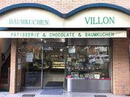 地元の人に愛される、レンガ造りの洋菓子店◎ さながら子どもの頃に憧れる「街の小さなお店」のようなかわいいお店です♪