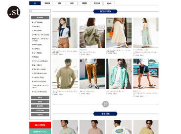 "WEBストア「.st」 カジュアルなのに上品でお洒落な""BAYFLOW"" 日常を特別にする生活雑貨・ファッションを揃えるブランドです♪"