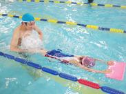 「泳ぐことが好きな方/昔スイミングを習っていた方」など、インストラクターの経験がなくてもOK◎アナタをフルサポートします♪