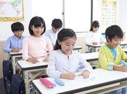 生徒は小学生が中心!子ども好きの方にぴったり◎オープンしたばかりのピカピカの教室で働けます☆彡