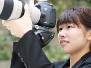 【ブライダル映像撮影・編集Staff】経験ゼロから始める!【撮影Staff★】*カメラに興味がある…*結婚式場で働いてみたい…etc気になるバイト始めてませんか?