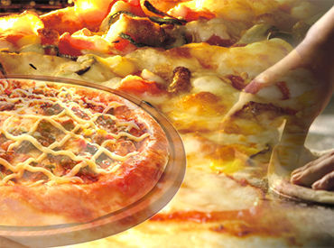 ☆★ 早くて美味しいピザが大人気!! ★☆ 社割あり!美味しいピザが格安で食べれる♪
