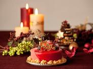 """一流ホテル""""ザ・リッツ・カールトン大阪"""" こだわりのクリスマスケーキをお客様にオススメしてください。"""