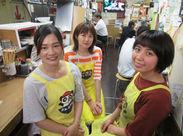 スタッフ皆で和気あいあい(^^♪毎日楽しく元気に働いています!!新しい友達も見つかるかも◎