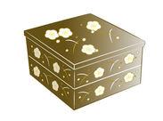 おせちの箱に「のし」を貼るお仕事♪髪やピアス、服装など自由なのでオシャレも楽しめちゃう◎