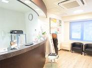 ★大人気の歯科医院スタッフ★ 曜日固定・時短・土日休み スタッフの定着率だって◎ 働きやすい環境が整っています。