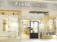 カジュアルブランド[Field Dream] ニットの部屋/アウターの部屋…と アイテム別に陳列しているのが特徴です♪ ※図はイメージ