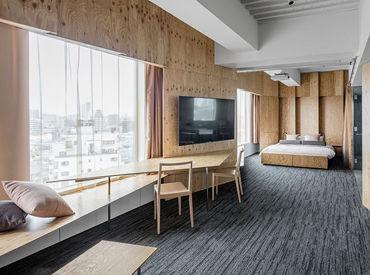 お仕事の流れはすぐに覚えることができます◎キレイな客室をご提供して、お客様に快適に過ごしてもらいましょう♪♪