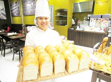 """【ベーカリーstaff】** 10月下旬NEW OPEN **≪ 人気商品の作り方が学べる★ ≫""""パン作り初めて!""""でも活躍OK!プロの本格技が身についちゃう◎"""