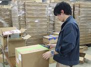 あのバンダイナムコグループで働けます♪おもちゃを梱包したり、フィギュアを出荷したり…モクモク作業でOK◎