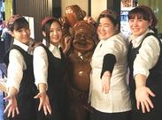 穏やかで優しいスタッフはみ~んな仲良し!仕事後に揃って食事にいくと…まるで女子会♪新しい仲間を待ってます(*´∀`)