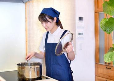 料理/テーブル拭き… 普段の家事スキルを活かせます◎ 1人作業なので、自分のペースでOK! ※画像はイメージ