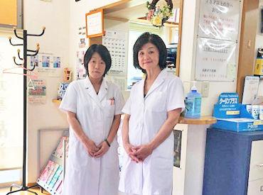 <施術料金の割引あり> 産後の骨盤矯正も行っており、 かかりにくる主婦スタッフも♪