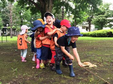 毎回の勤務がワクワク★ 日々、子ども達の成長が見られるのが喜びです◆*