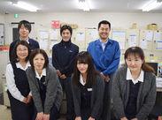 スタッフは~が中心に活躍中。アルバイトから正社員登用されたスタッフも多数!