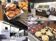 オリジナルパンが人気の≪des foret KAZE Toiya-machi≫ 店内には約100種類のパンが♪ 毎日食べても飽きないパンです♪
