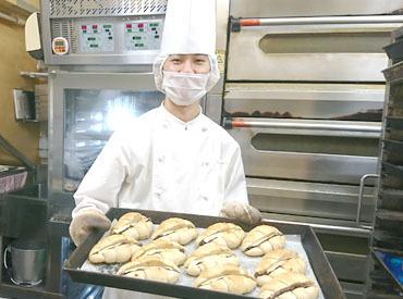 【ベーカリーstaff】**≪ 短時間から大歓迎 ≫**・[初めてのバイト]もOK・香ばしい香りの店内⇒パン好き歓迎・人気商品に囲まれたお仕事◎