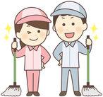 掃き・拭き掃除などお仕事内容は至ってシンプル♪最初は先輩がしっかりサポートしますので、ご安心ください!