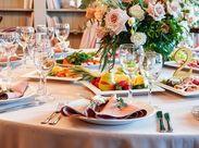 「パーティーやサービスが好き」 ⇒そんな気持ちがあれば大歓迎♪ 週1~&平日・土日だけも◎アナタのペースで働けます!