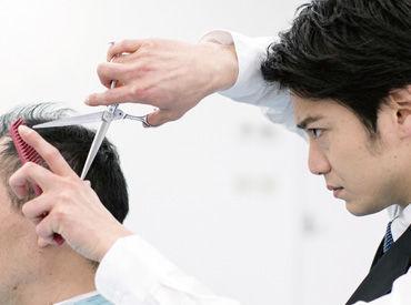 【理容師】全国直営340店舗のカットエーでは、理容師又は、理容師を志す人を高い保障給/売上に応じた歩合/充実の福利厚生でお迎えします。