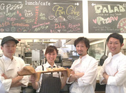 パスタクリエーションシステムとは★お客様が麺・ソース・サイズ・具材をチョイスし自分だけのパスタを作れるシステムです!