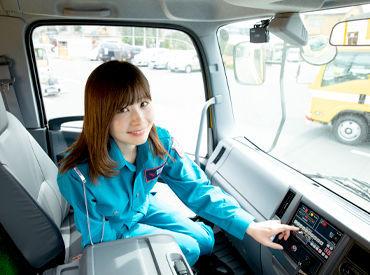 \免許をお持ちの方歓迎!/ 現場までの運転をお任せしちゃいます! 長距離ではないので、最近は運転してない…とういう方も◎