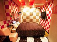 清潔感のある おしゃれなお部屋が揃うホテル*。 シンプルなお仕事なので覚えやすい★