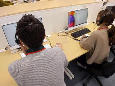 \2021春の大募集!!/ 昨年10月オープンしたばかり♪ ピカピカの博多駅前オフィスで働こう!! 髪色/髪型/ネイル/ピアス全部OK◎