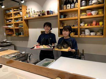 ≪平塚駅南口から徒歩2分*≫ 交通費の支給もあるので 電車通勤の方もご安心ください◎ 出勤時はまかないが無料で食べられる♪