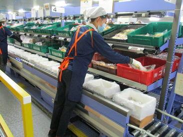 パン工場でのピッキング・仕分け作業をお任せ☆ 未経験でも安心!とっても簡単なお仕事です◎不安な方は見学もOK!