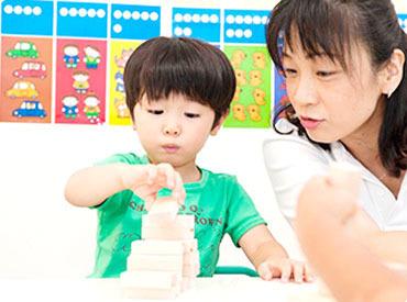 """【学研幼児教室の先生】子どもたちが初めて出会う """"学びの先生""""になりませんか?◆30~50代が活躍中♪◆週1日~OK!自分のペースでStart!"""