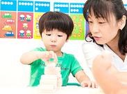 指導法や子どもたちへの接しかたは研修で丁寧にお伝えします。子どもたちの成長を身近に感じながら働きませんか?