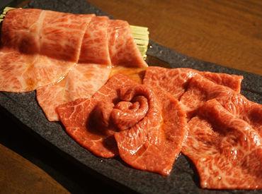 こ~んな美味しそうなお肉を まかないで!無料で!食べられるなんて なんて贅沢バイト…☆彡