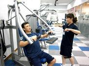 """神奈川県""""初""""上陸のトレーニングマシンなど最新設備も無料で使用できるので「体を動かしたいな…」と思っていた方にも◎"""