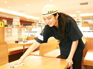 【くら寿司STAFF】\\バイトデビューは【くら寿司】で決まりッ//シフトパターンはあなた次第♪高校生~主婦(夫)、皆さん大歓迎!